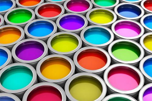 Multi coloured inks